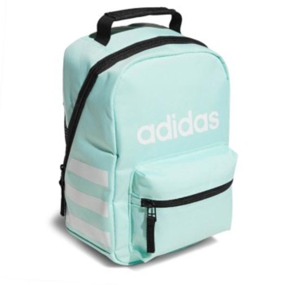 6d2441dab262 Adidas Santiago Lunch Bag Box Aqua Insulated